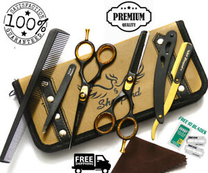 5-5-034-Professional-Cutting-Thinning-Hairdressing-Hair-Barber-Salon-Scissors-AU