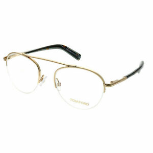 12ae5438d3 Tom Ford FT 5451 28B Gold Metal Round Eyeglasses 48mm 664689861064 ...