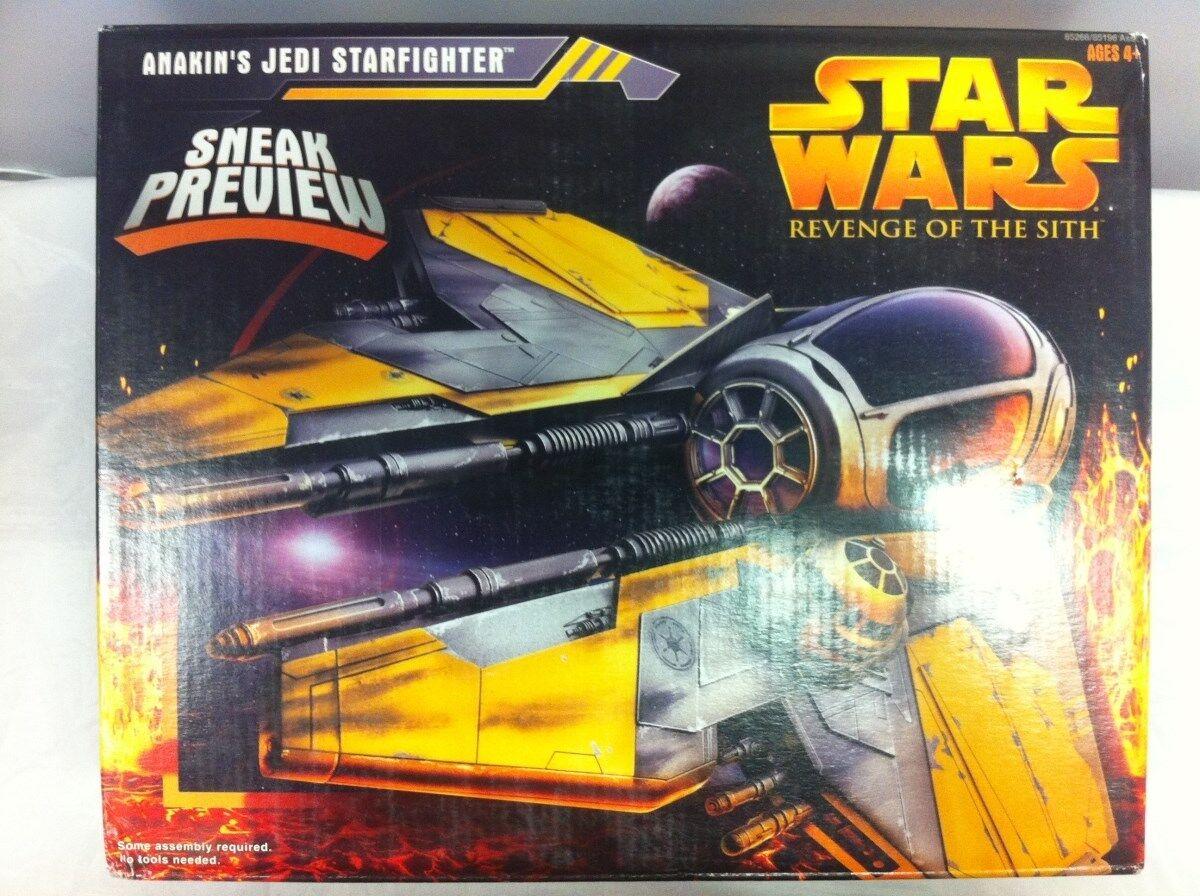 Estrella Wars La Venganza De Los Sith Anakin's Jedi Estrellafighter Hasbro 2005