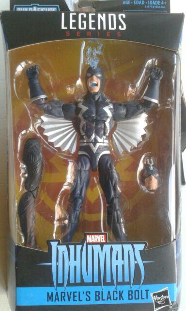 Marvel Legends Inhumans Black Bolt Figure Hasbro 2017 Okoye BAF Series BNIB