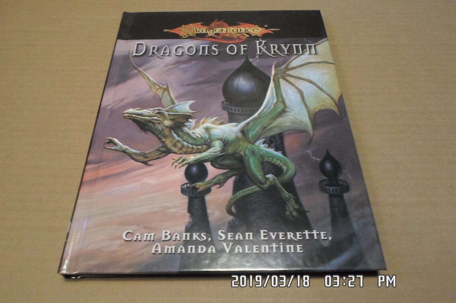 Dragonlance RPG Dragons of Krynn HC New  Very rare