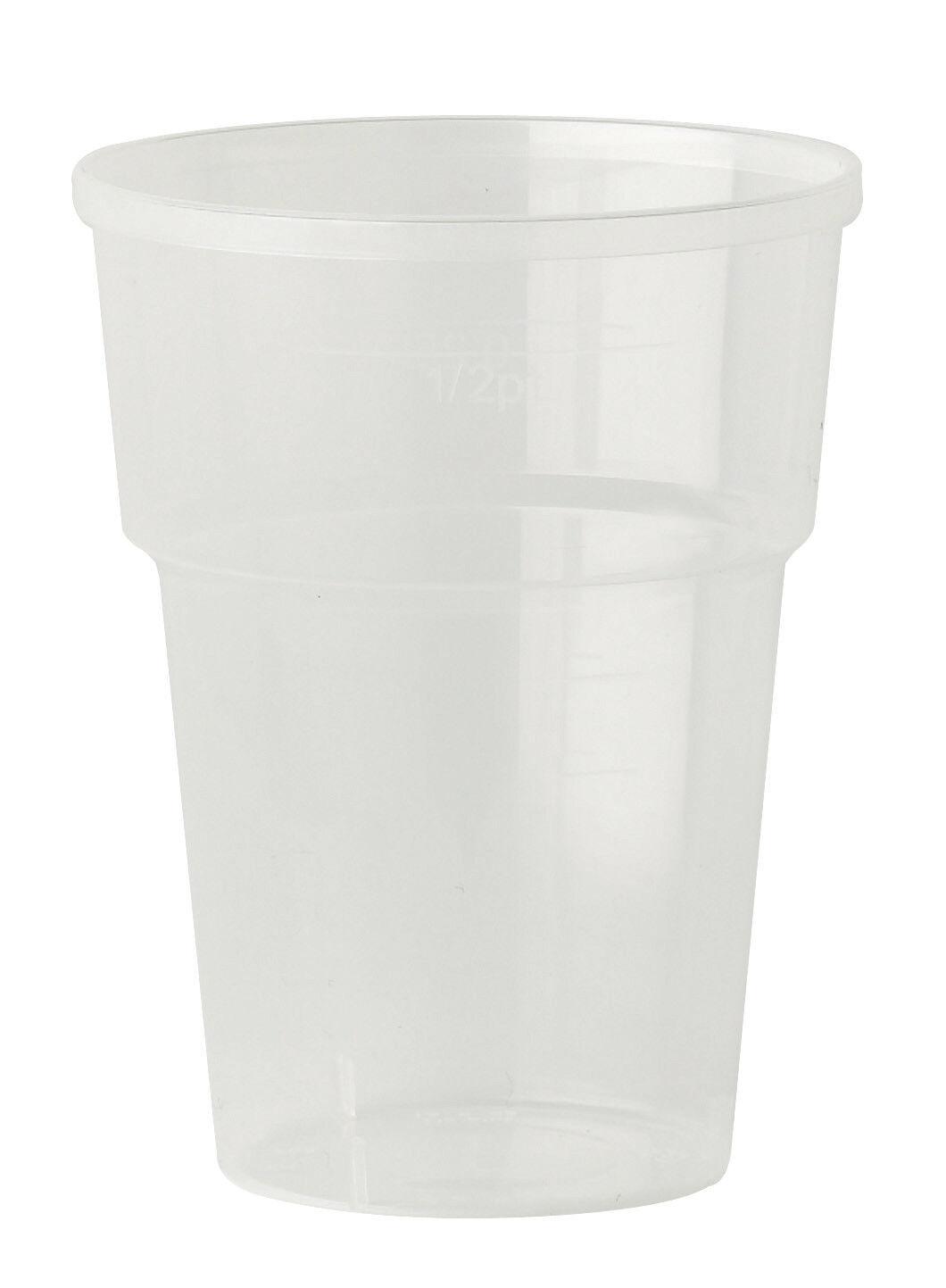 Katerglass jetables Pinte/Demi-Pinte Verres Gobelets durable marquage CE solide durable Gobelets b11a2d