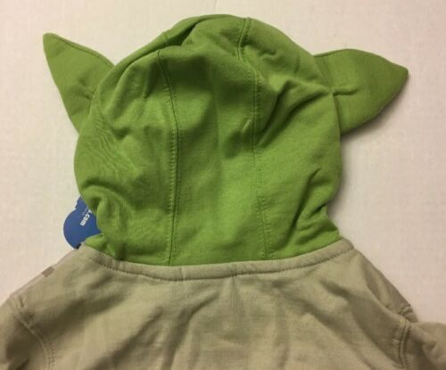 Details about  /DISNEY STAR WARS Hooded Sweatshirt Taupe Green Shirt Top 4T NWT