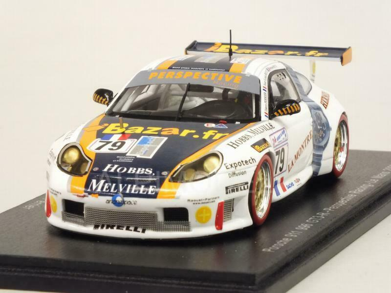Porsche 911 GT3-R 996 Le Mans 2000 Ricci - Ricci - Perrier 1 43 SPARK S4759