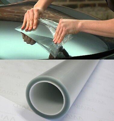 """5ft x 60"""" clear gloss bra light bumper hood paint protection film vinyl sheet"""
