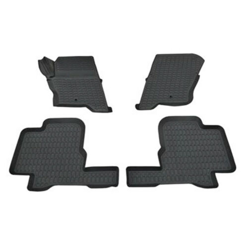 DISCOVERY 4 FRONT /& REAR RUBBER MAT SET LAND ROVER LR3 DISCOVERY 3 /& LR4