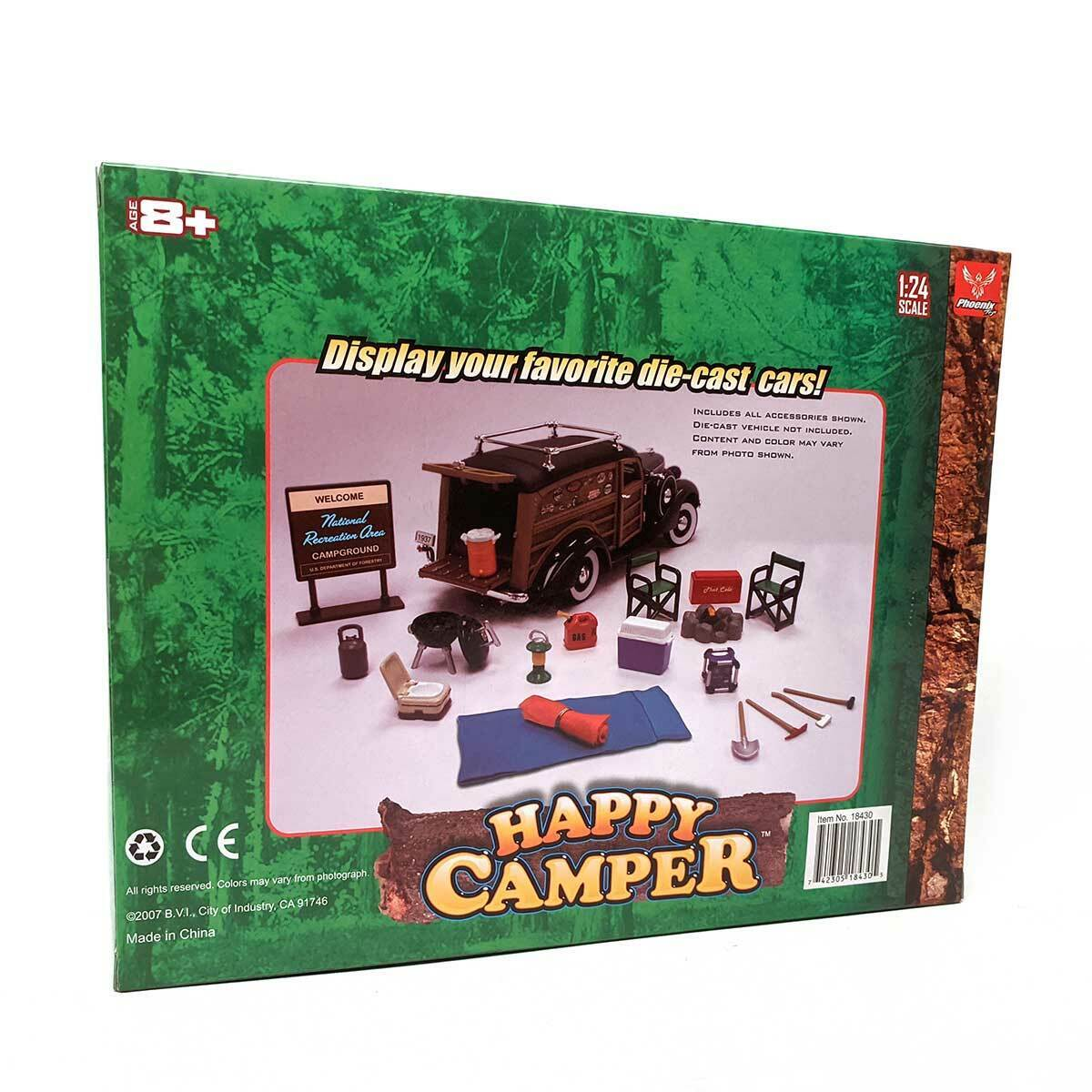 Phoenix Toys 1:24 Happy Camper Accessory Set
