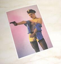 RICHARD KERN New York Girls Postkarte Erotik Fetisch Uniform Domina strapped