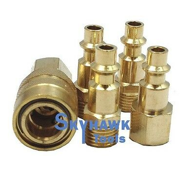 5pc Air Brass Fittings-universal COUPLER /& CONNECTOR