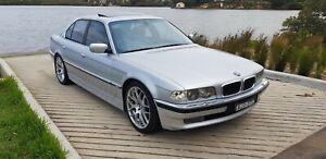 2001-BMW-735i-e38-High-Line-Beautiful-condition-Log-books-GPS-2-keys