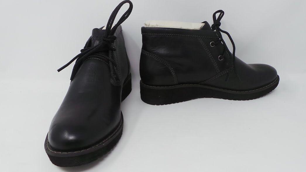 New Womens Eastland Harmony Chukka Bootie Style 316201 Size 6 Black 197G ar