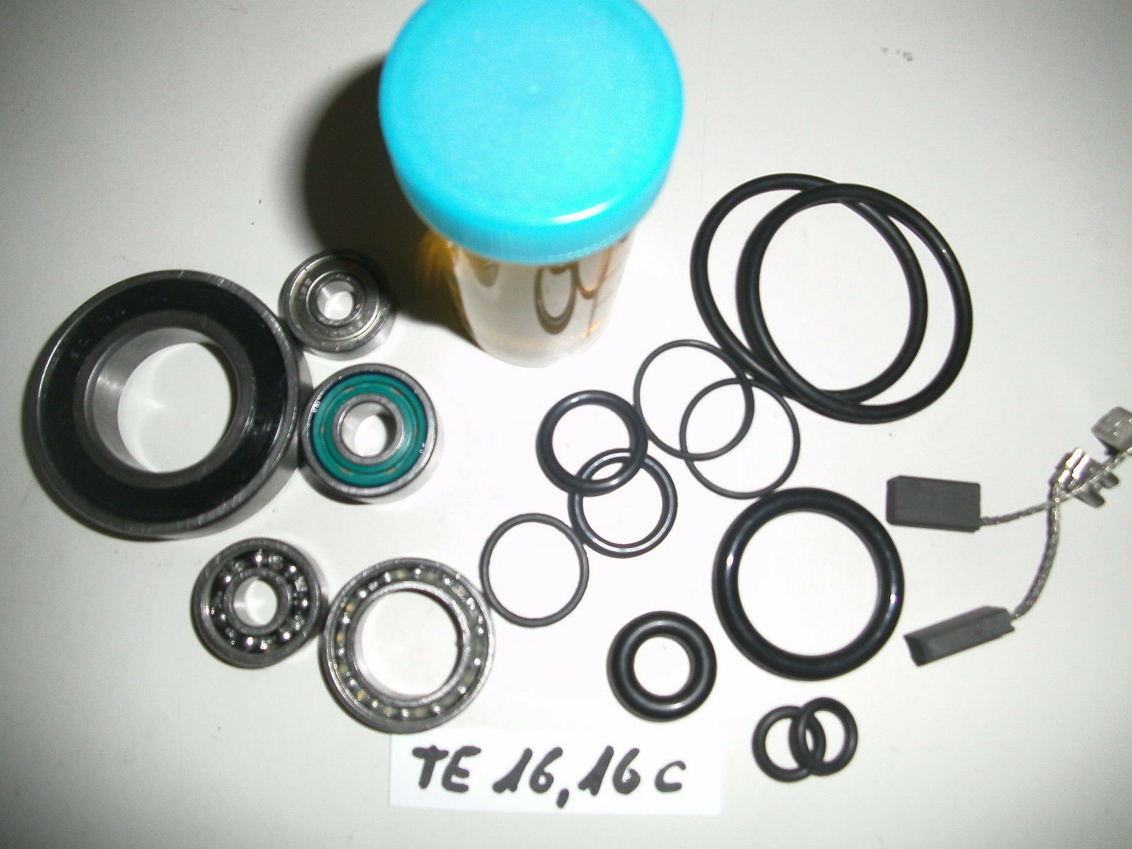 16 - Hilti TE 16 & TE 16 C, Reparatursatz, Verschleissteilesatz, Wartungset