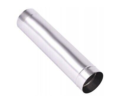 Sporting Matt Stainless Steel Flue Liner / Chimney Stove Rigid Metal Pipe Fireplace Tube