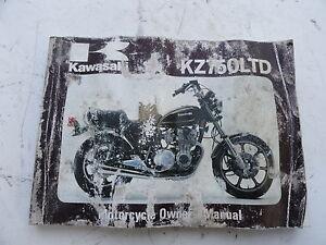 1980 KAWASAKI KZ 750 H1 LTD ORIGINAL OWNERS MANUAL | eBay