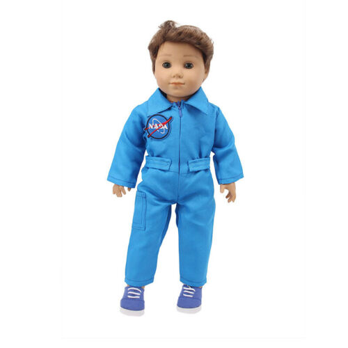 """Handmade Accessories Fits 18/"""" Inch American Girl Doll Aviation Suit Navy Suit"""