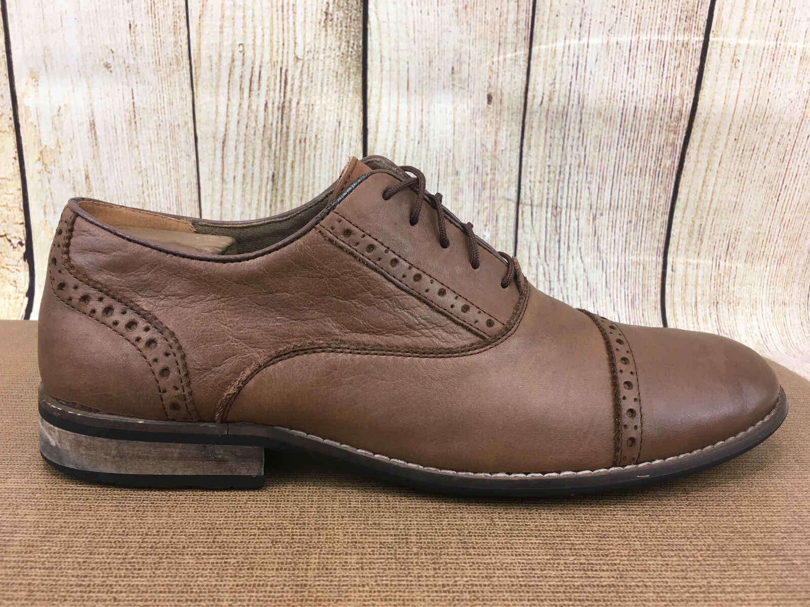 Steve Madden Mens Size Germain Round Toe Oxford Shoe Size Mens 10 G34(4 bc737a