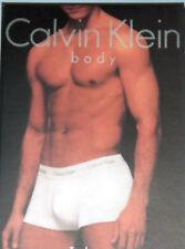 1 NEW in Box Calvin Klein Boxer Briefs Underwear Size Small Navy 100% Cotton