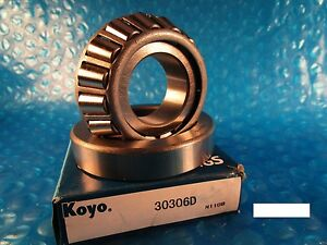 Details about KOYO Cone and Bearing Set 30306, 30306 D (FAG , SKF, NSK, NTN  4T, SNR)