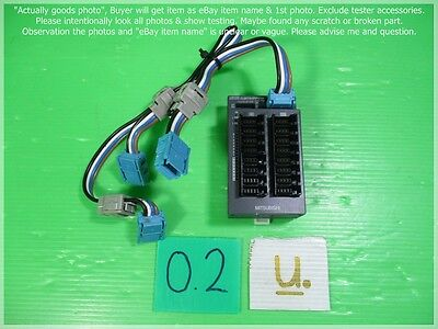 Lφo 2 Remote I/o Module & Cable As Photo Sn:0909 2019 Latest Design Mitsubishi Cl2xy16-dtp1c5v
