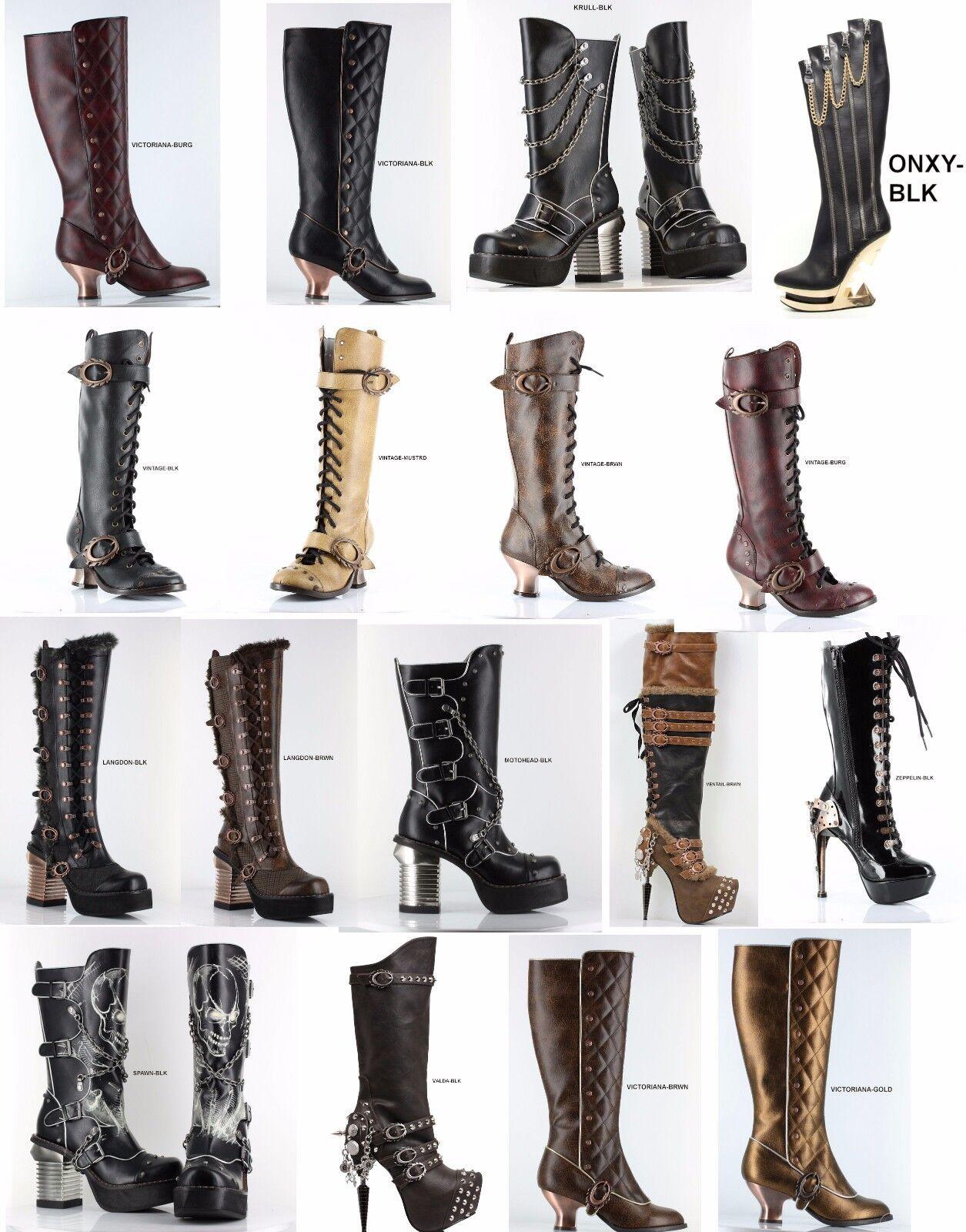 Hades Footwear KRULL LANGDON MOTORHEAD ONYX SPAWN VALDA VICTORIANA VINTAGE Boot