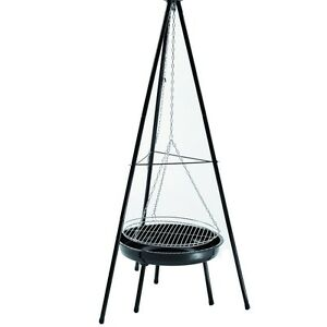 Landmann-Tripod-Charcoal-Barbecue-Grill-Round-Portable-for-6-8-people