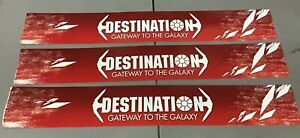 (3) Toys R Us Display Sign Star Wars Destination Gateway to The Galaxy 2 sided
