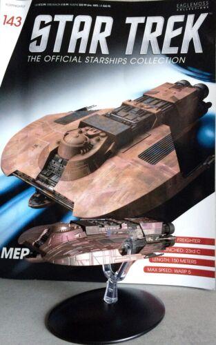 STAR TREK Official Starships Magazine #143 The Merchantman Starship Eaglemoss en