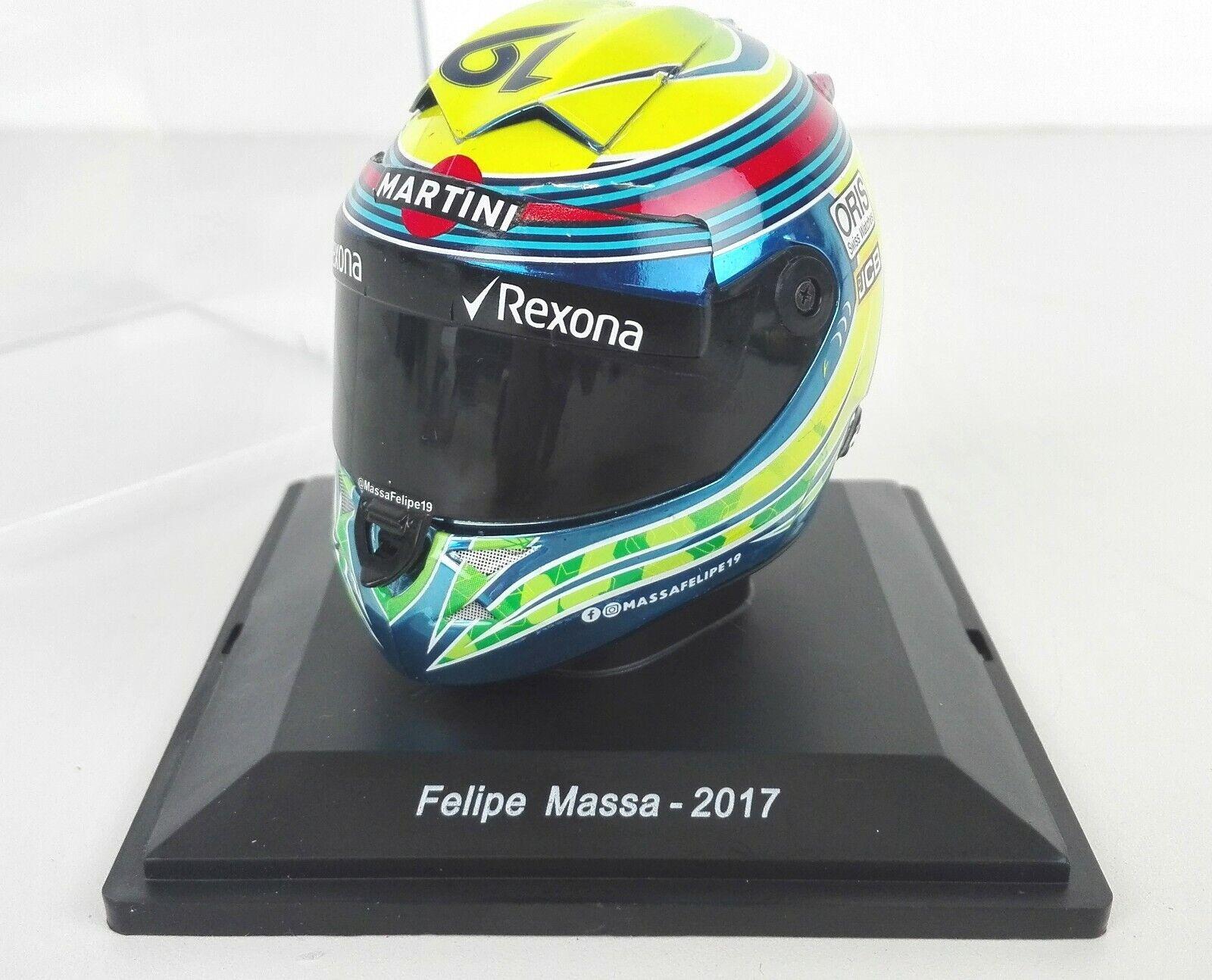 FELIPE MASSA -2017- CASCO 1 5 SPARK - HELMET - NEW