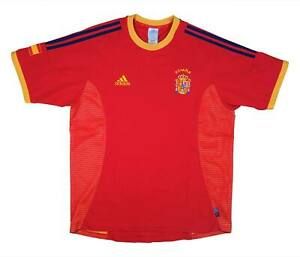 SPAGNA 2002-04 Authentic Home Shirt (OTTIMO) L soccer jersey