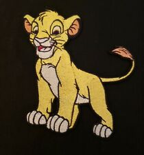 Embroidered Iron On Applique Patch Lion Simba Disney The Lion King