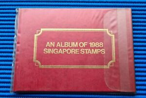 1988 An Album of 1988 Singapore Stamps