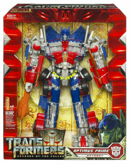 Optimus Prime Transformers Revenge of the Fallen Voyager Class Hasbro 2008 New