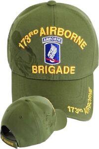 99e3330456a US ARMY 173rd Airborne Brigade Ball Cap Vietnam OEF OIF Paratrooper ...