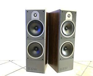 BOWERS-amp-WILKINS-B-amp-W-DM-620-Speaker-3-Way-100-Watts-RMS-Hi-End-Working-Like-New