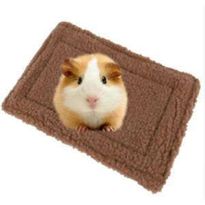 Small-Pet-Rabbit-Hamster-Mice-Soft-Warm-Bed-Mat-Nest-Pad-Cushion-Sleeping-6A