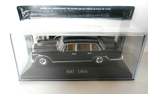 DIE CAST 600 1964 MERCEDES COLLECTION SCALA 1//43  #56