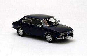Neo 43019 - Saab 99 Saloon Bleue 1971 1/43