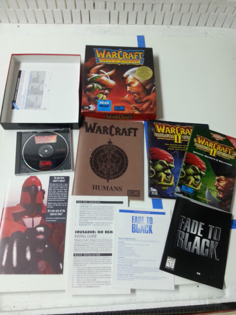 Warcraft Orcs Humans Pc 1994 For Sale Online Ebay