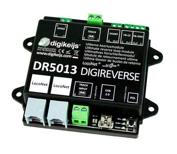 Digikeijs ® dr5013 DCC digireverse zione loop modulo Railcom ® loconet ® KSM z21 ®