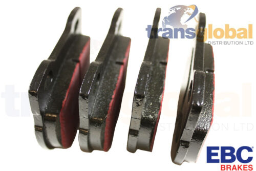 Rear Brake Pads for Land Rover Defender 110 130 94 on EBC ULTIMAX Performance
