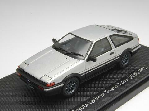 tienda en linea Ebbro 1 43 Jugueteota Sprinter Trueno 3 puerta AE86 1983 1983 1983 plata de Japón  Vuelta de 10 dias