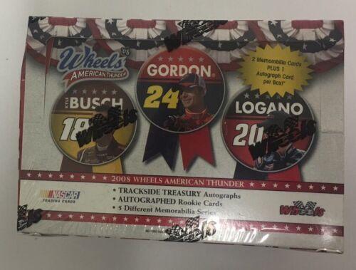 2008 Wheels American Thunder Factory Sealed NASCAR Racing Hobby Edition Box