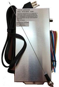Telectron Garage Door Opener Receiver Nfr204ad Rf433 9 Ebay