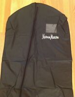 Neiman Marcus Logo Zipper Garment Suit Dress Travel Storage Bag Carrier