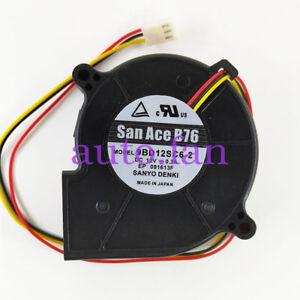 Phenomenal For Sanyo San Ace B76 Blower Fan 9Bd12Sc6 2 3 Wire Fan Dc 12V Ebay Wiring Digital Resources Jebrpcompassionincorg