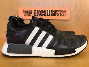 brand new 4d06d ee7ad Details about Adidas NMD R1 Bape Black Camo Army Bathing Ape Nomad Runner  BA7325 SHIPPING NOW