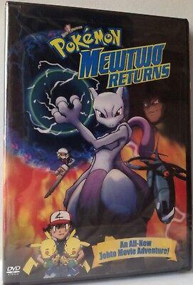 Pokemon Mewtwo Returns Dvd 2001 New Factory Sealed Region 1 85392214228 Ebay