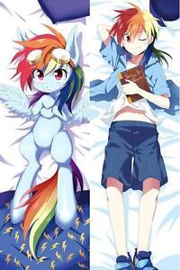 Wonderful Image Is Loading New Anime My Little Pony Rainbow Dash Dakimakura