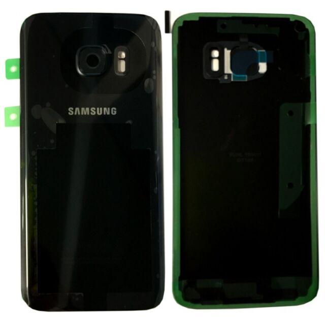 Samsung Tapa de Batería para Galaxy S7 G930F gh82-11384a + ALMOHADILLA ADHESIVA
