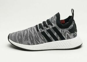 cbf2a0adb5083 Adidas Originals NMD R2 Primeknit PK (Men Size UK 8.5) Black BY9409 ...